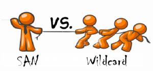 san vs wildcard