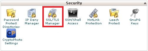 Security - cPanel/WHM