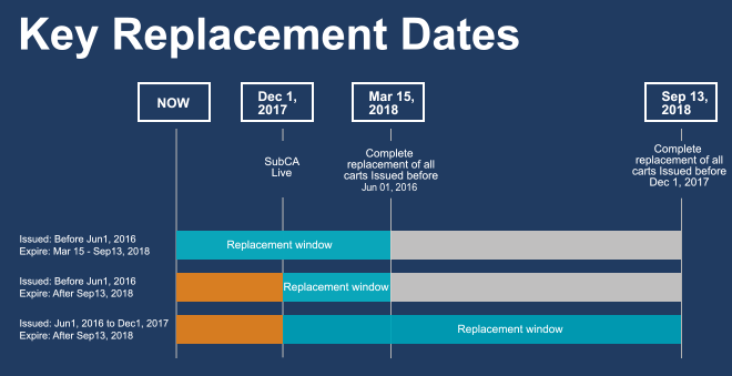 Replacement Dates