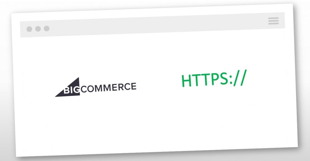 bigcommerce ssl certificate installation